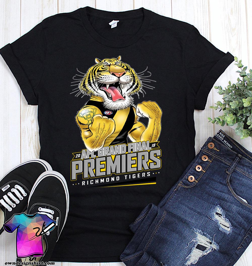 20 AFL grand final premiers richmond tigers shirt