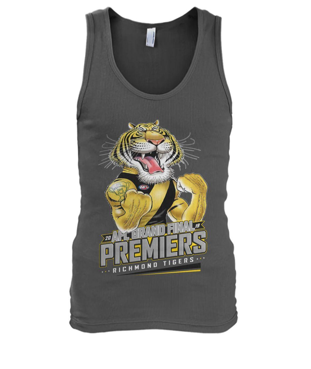 20 AFL grand final premiers richmond tigers tank top