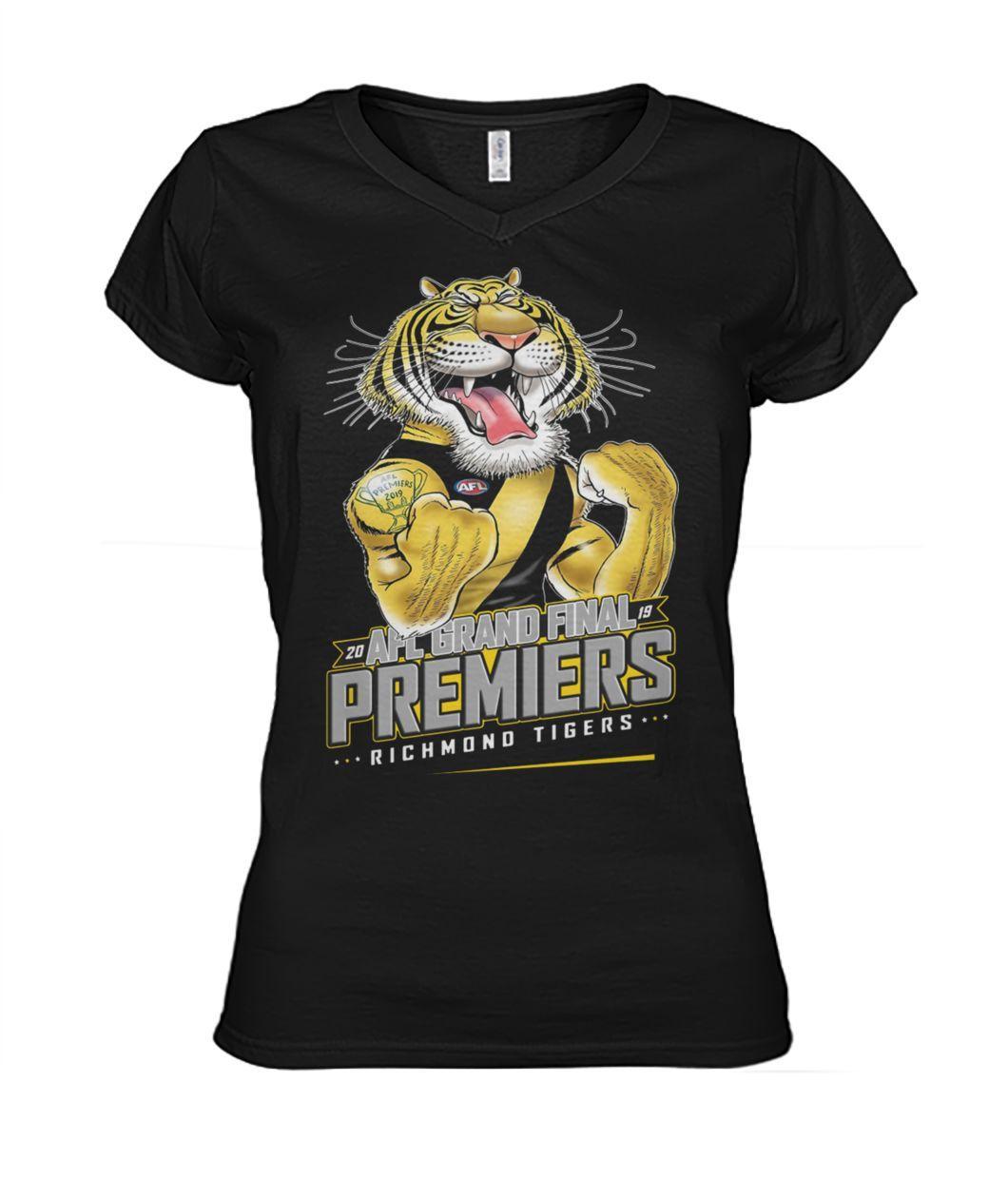 20 AFL grand final premiers richmond tigers women's v-neck