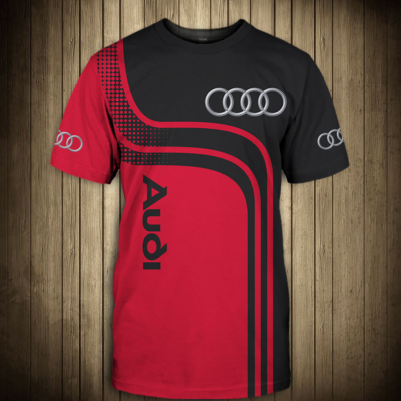 Audi sport car all over print tshirt