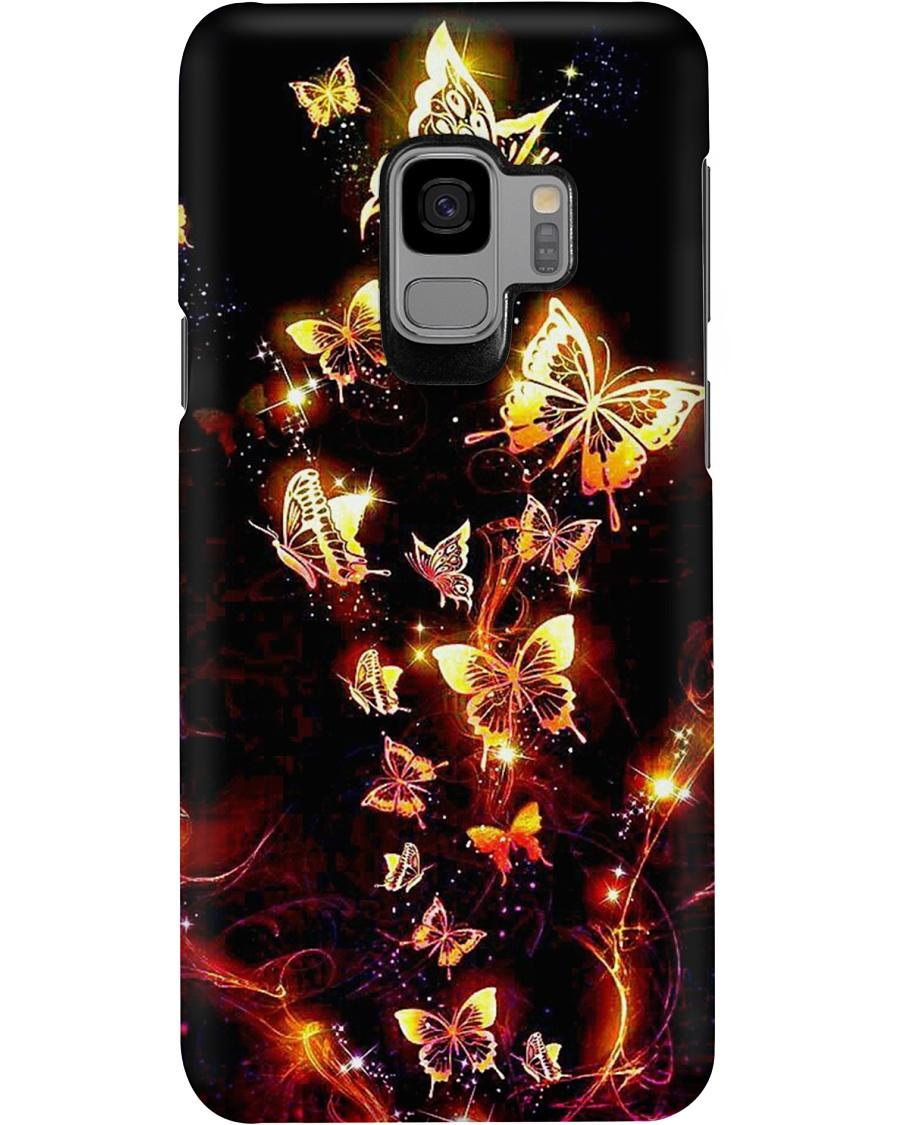 Beautiful golden butterfly phone case - 4