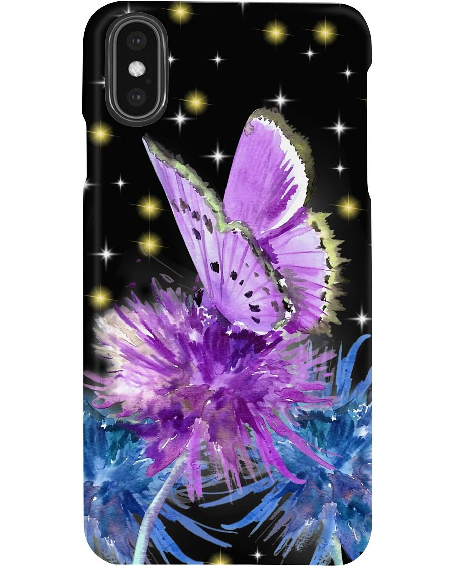 Butterfly and dandelion phone case - 2
