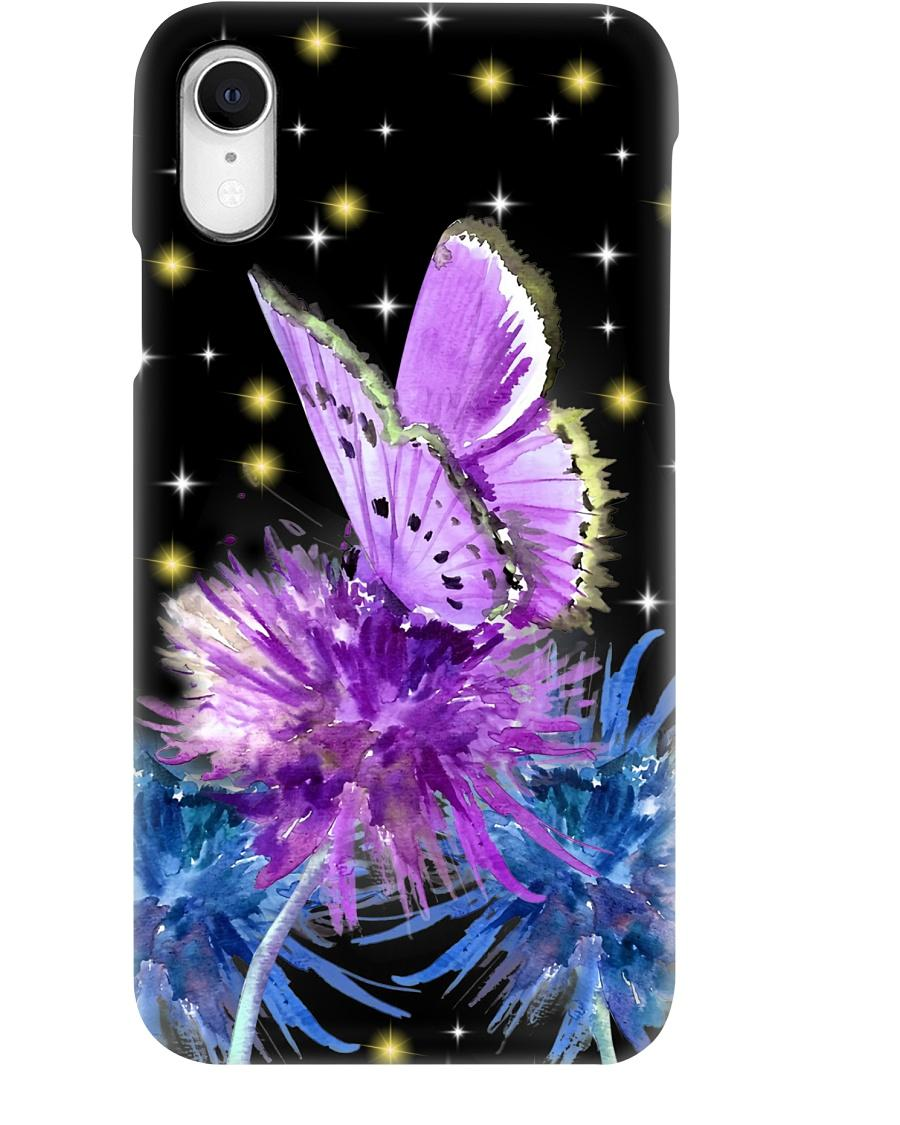 Butterfly and dandelion phone case - 3
