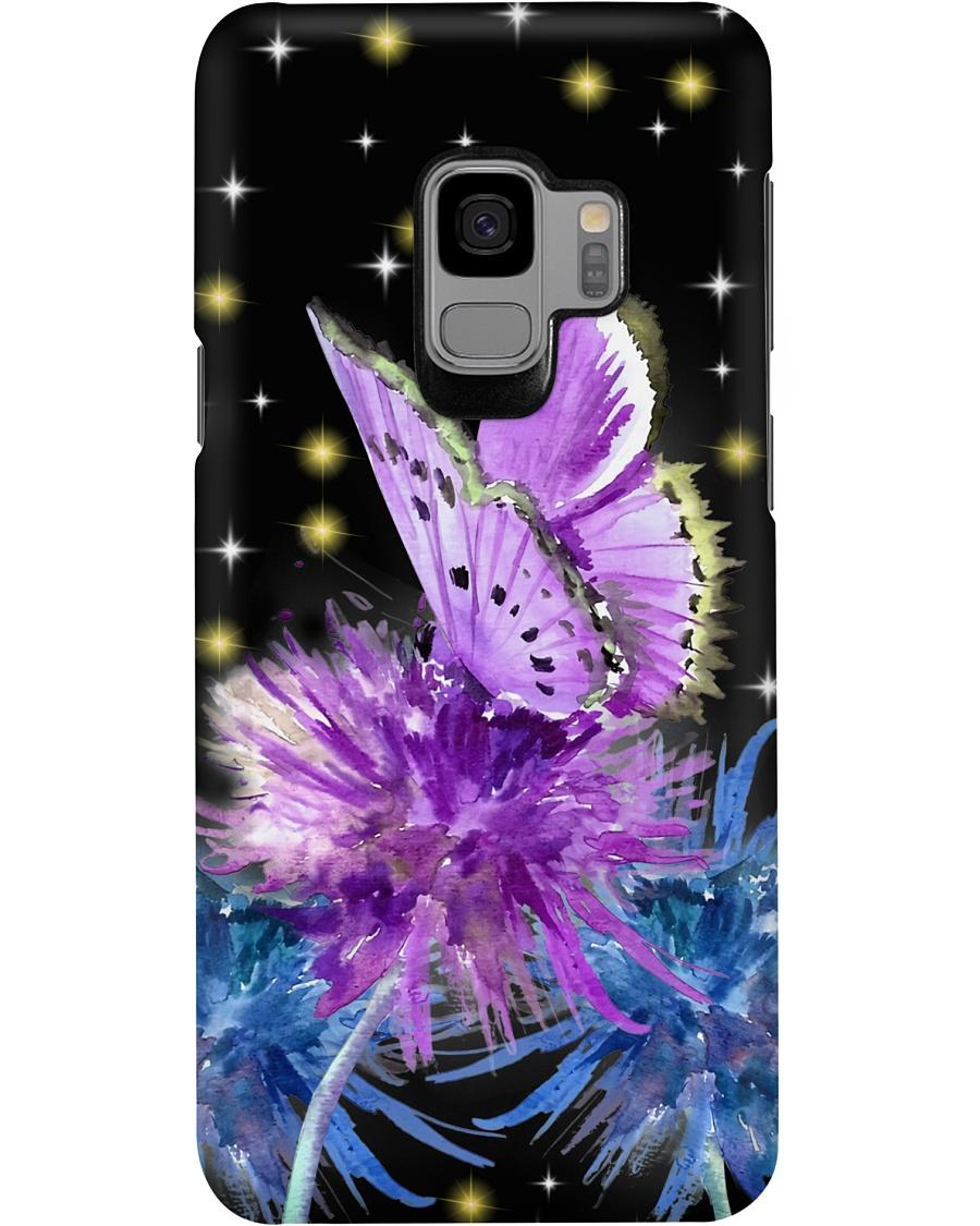 Butterfly and dandelion phone case - 4