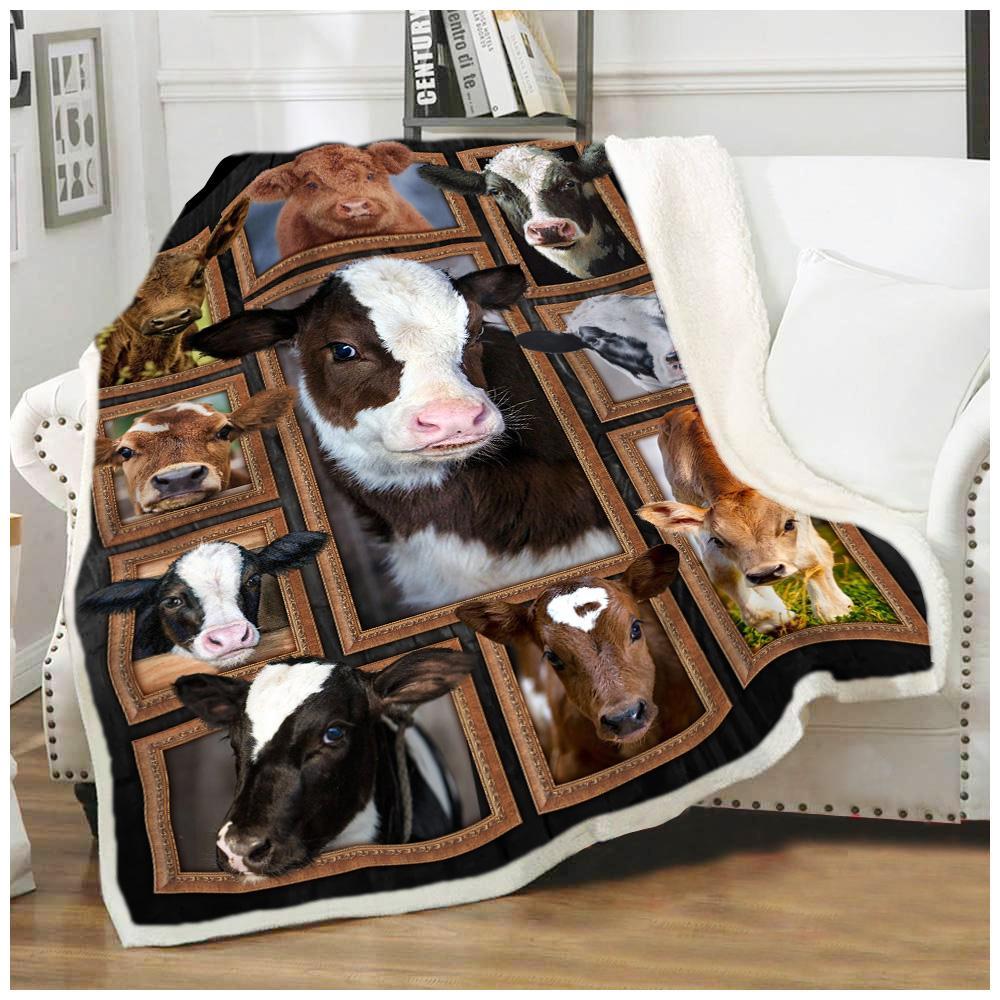 Cute cows blanket 2
