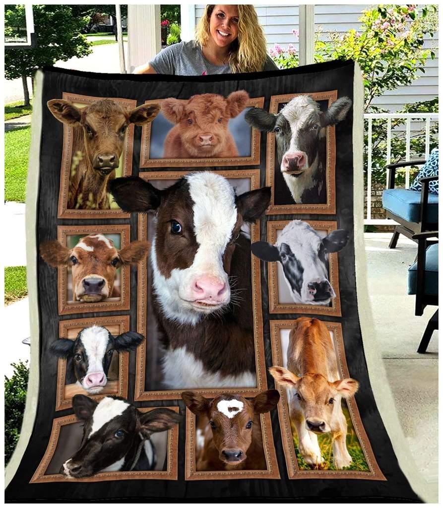 Cute cows blanket 4