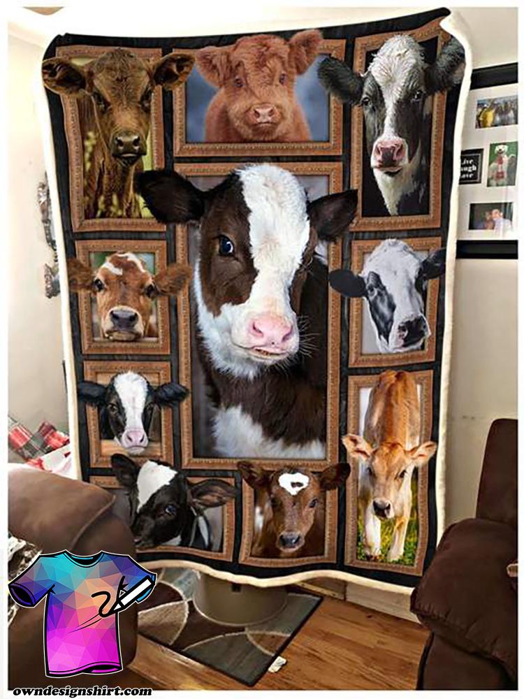 Cute cows blanket