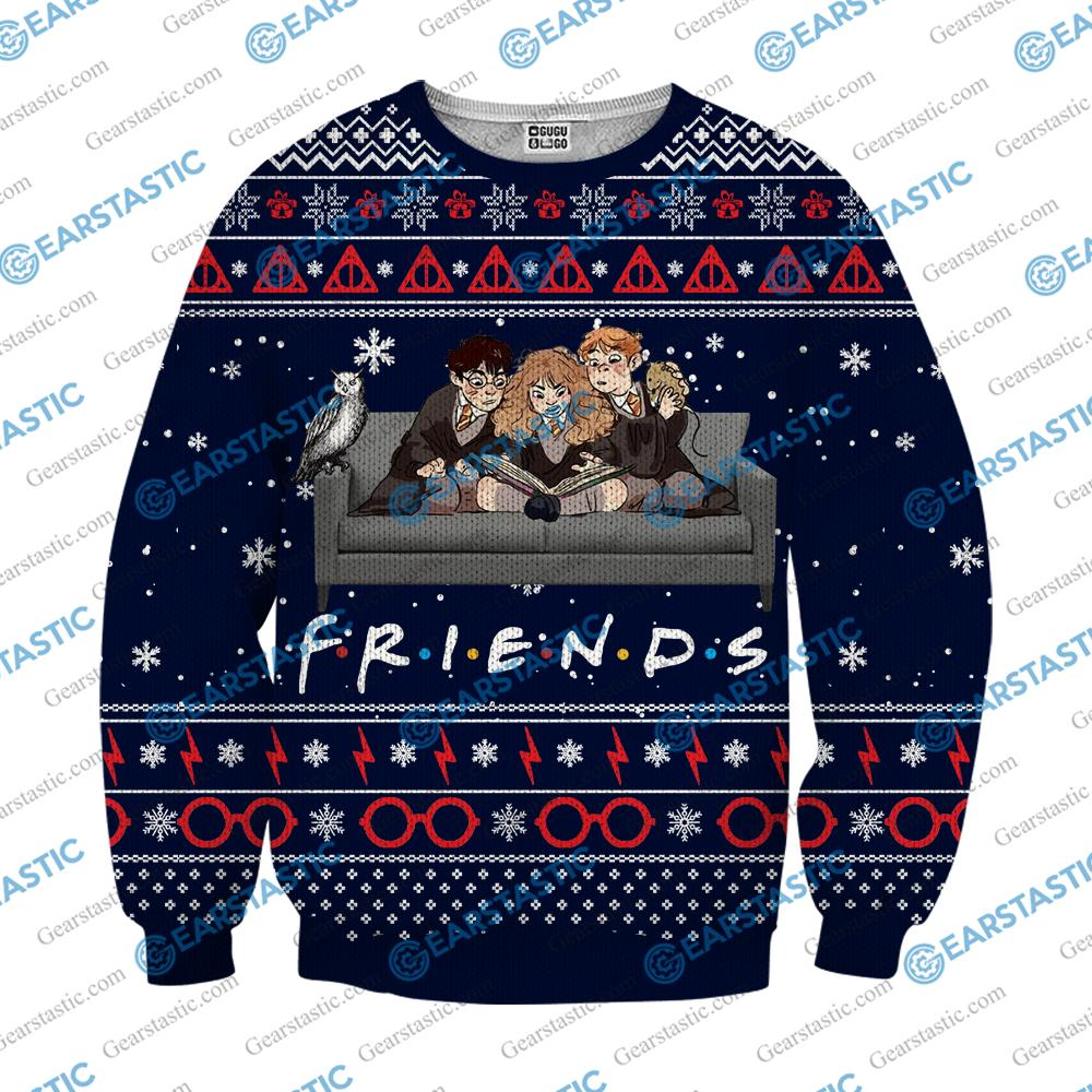 Friends Sweatshirt Christmas Long Sleeve TV Show Sweater Movie Jumper Quotes