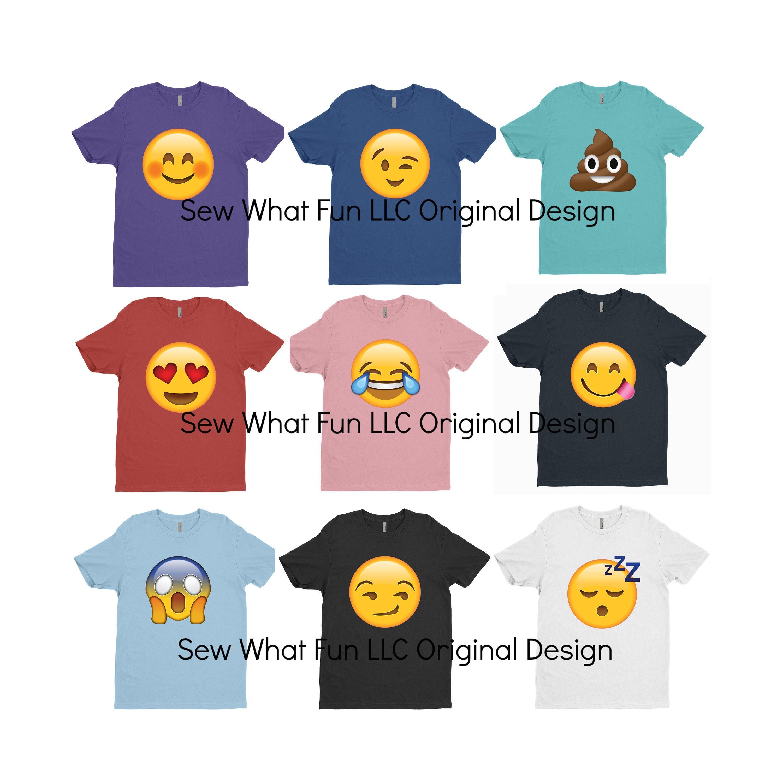 Halloween emoji - size m