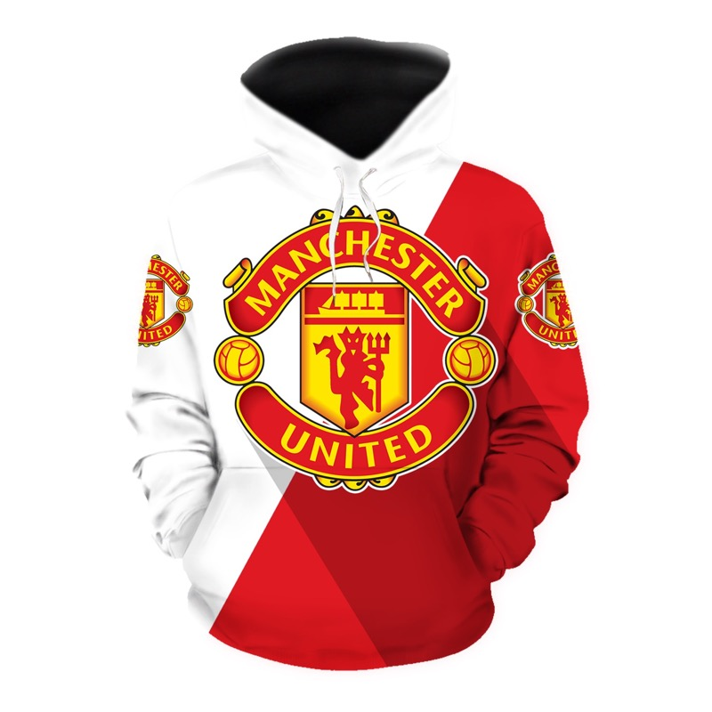 Manchester united all over print hoodie - original