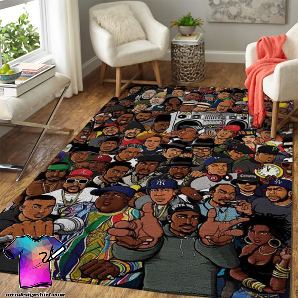 Rap gods eminem dr dre 2-pac 50 cent snoop dogg ice cube rug