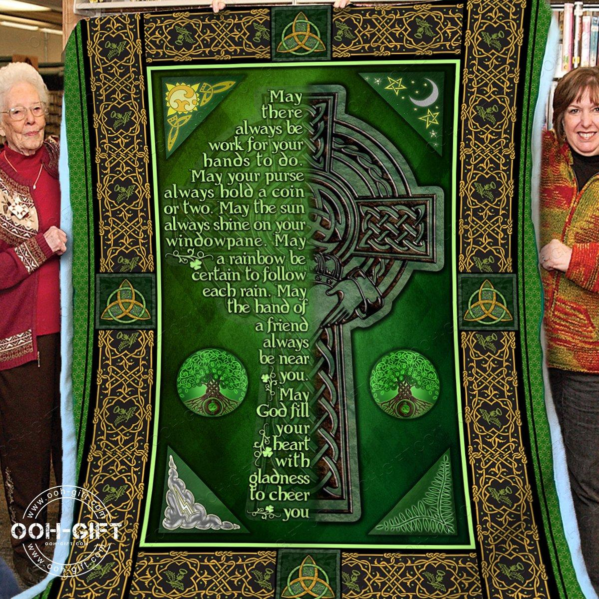 Religion an irish blessing blanket - children