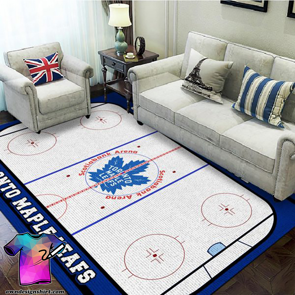 Toronto maple leafs scotiabank arena rug