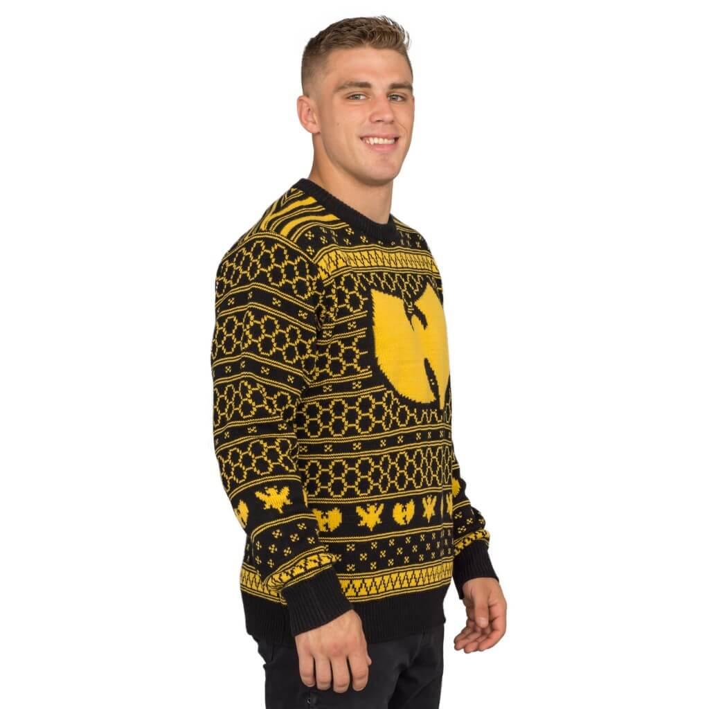 Wu-tang clan killer bees ugly christmas sweater - 1