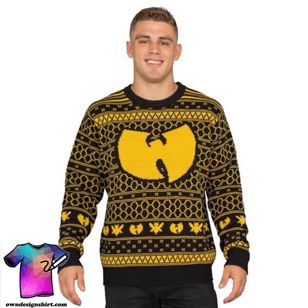 Wu-tang clan killer bees ugly christmas sweater