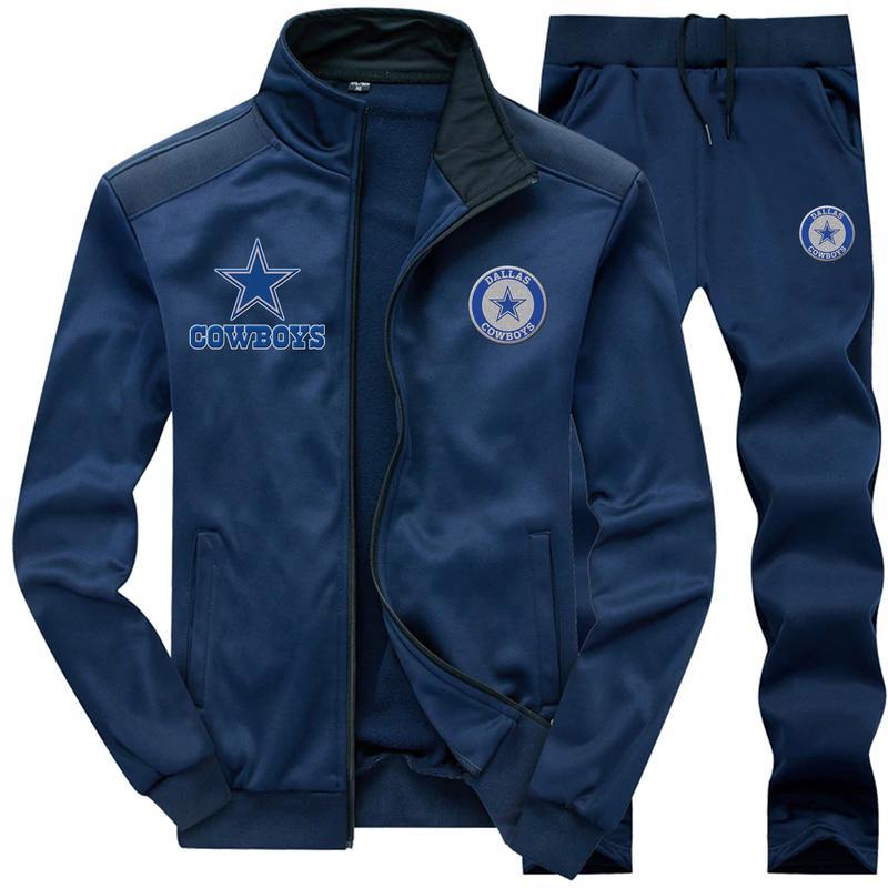 Dallas cowboys 3d jacket and sweatpants - navy