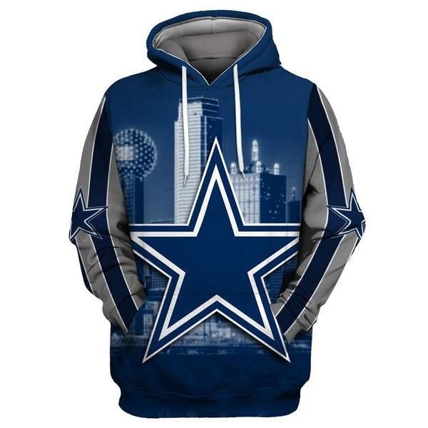 Dallas cowboys full printing hoodie 1