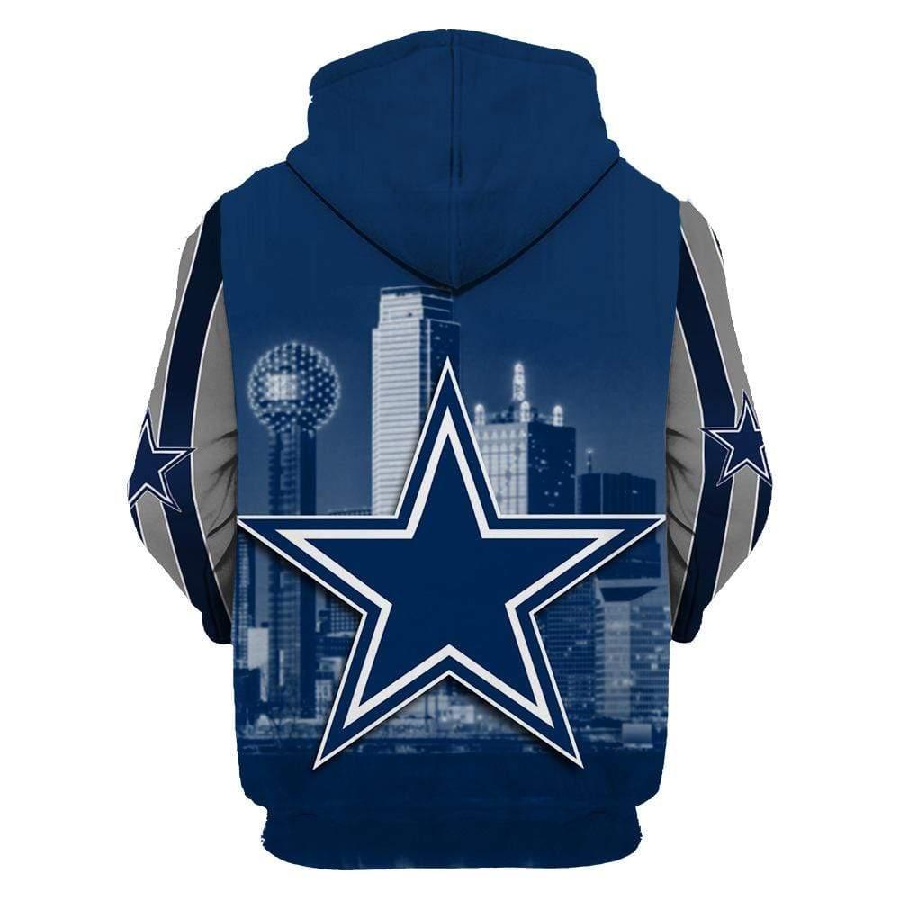 Dallas cowboys full printing hoodie 2