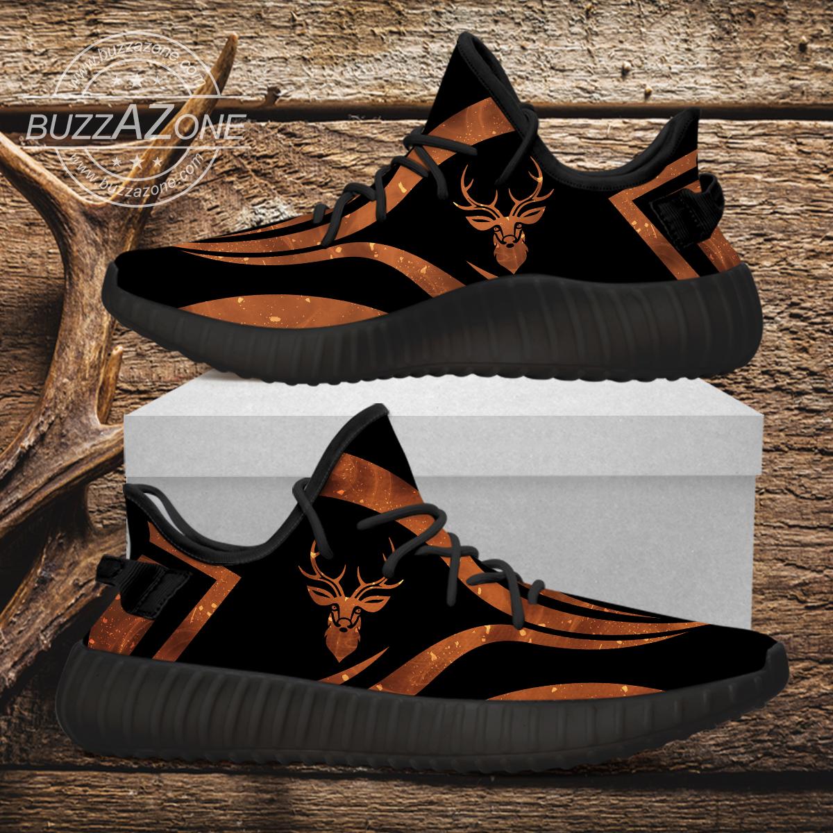 Deer hunting custom yeezy sneakers 2