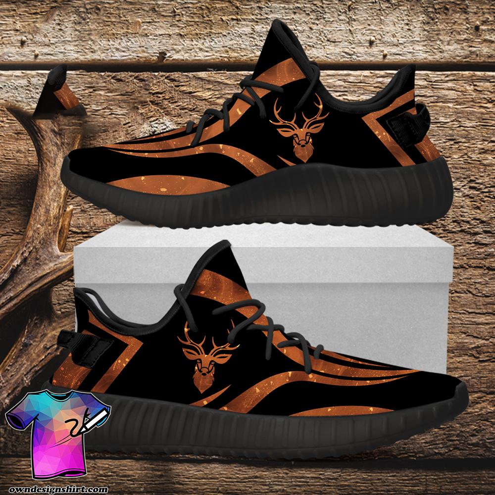 Deer hunting custom yeezy sneakers