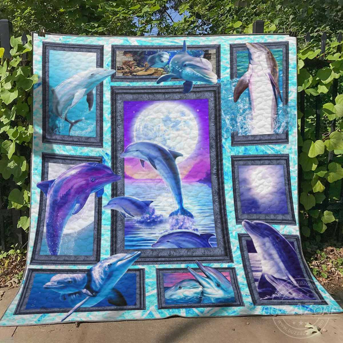 Dolphin collection quilt 1