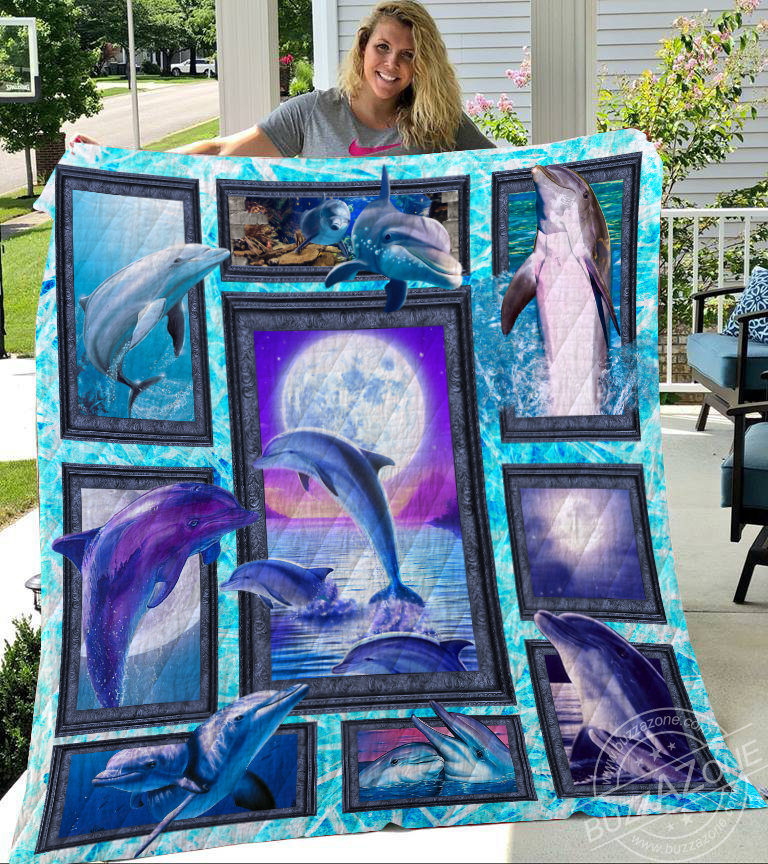 Dolphin collection quilt 2