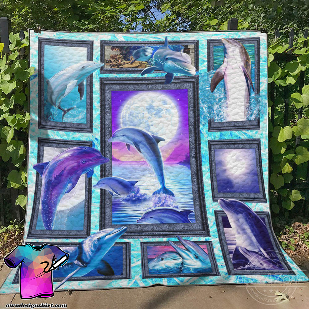 Dolphin collection quilt