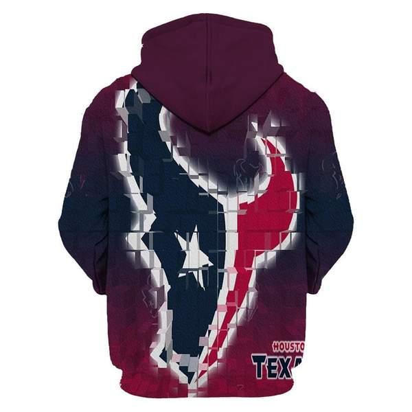 Houston texans full printing hoodie 2