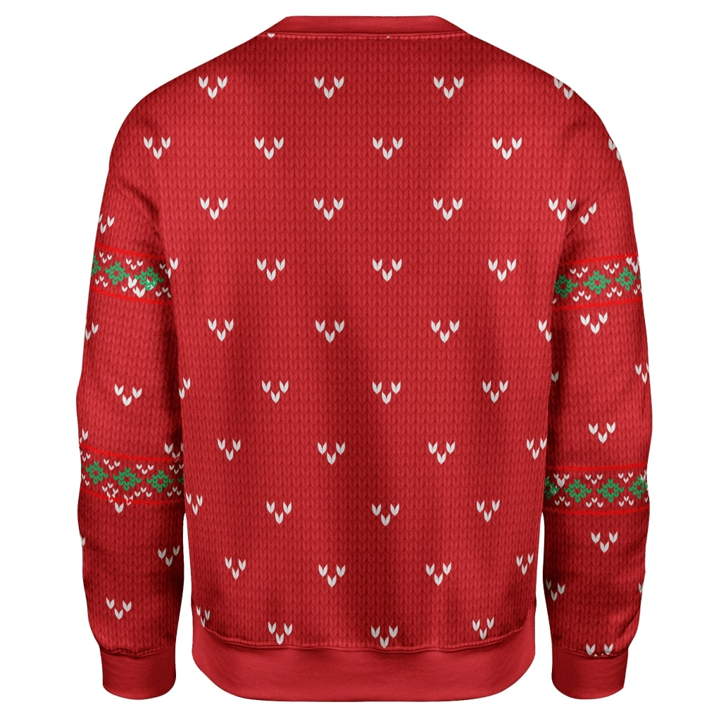 Jeffrey epstein christmas lights are a lot like epstein they don't hang themselves ugly christmas sweater - back