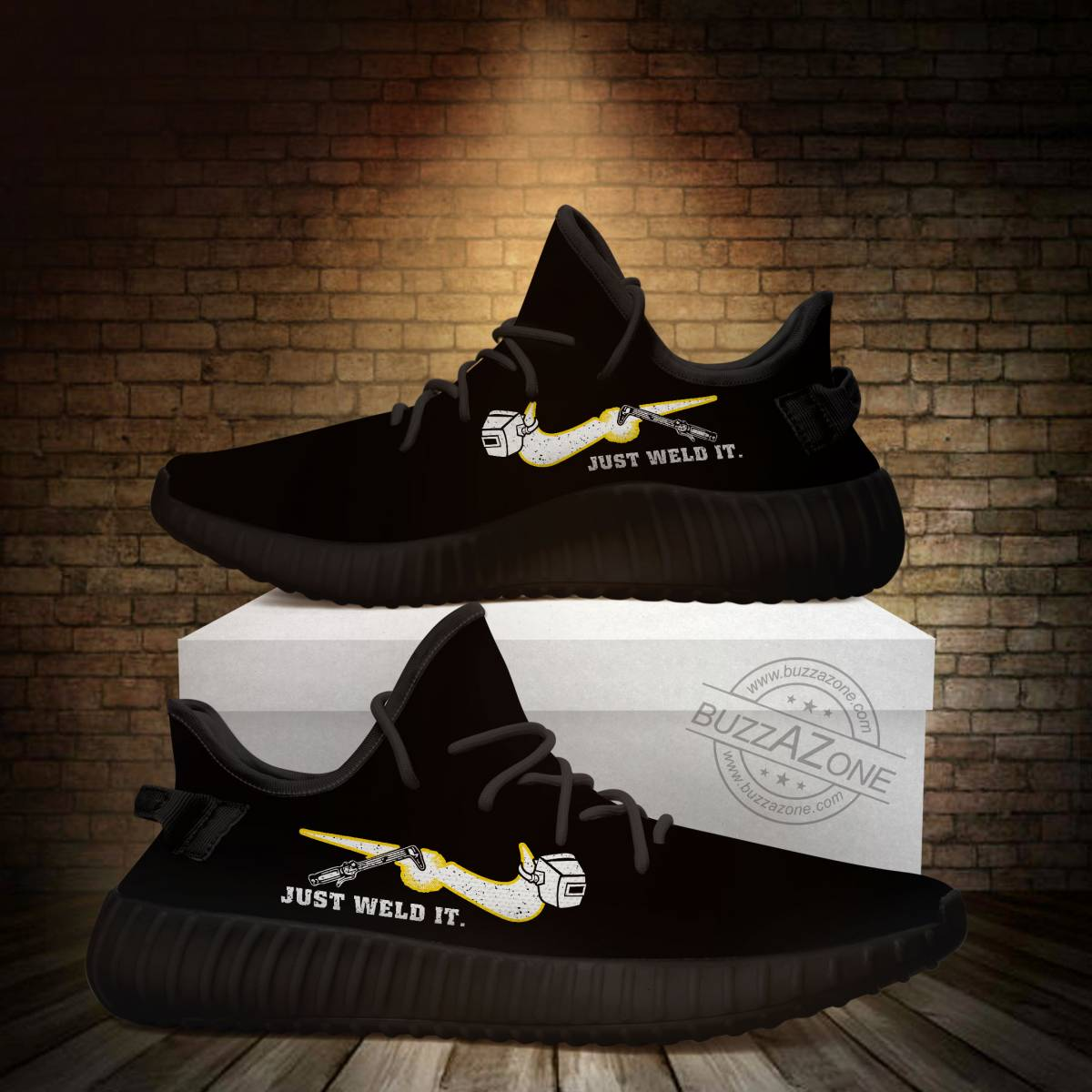 Just weld it custom yeezy sneakers 1