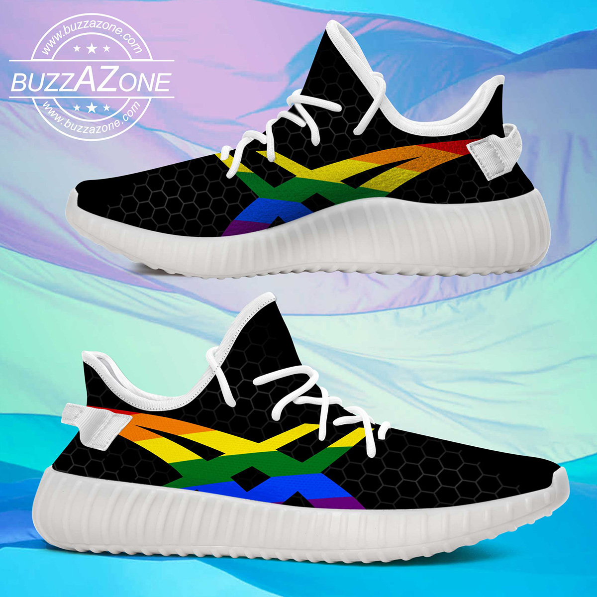 LGBT yeezy shoes 3