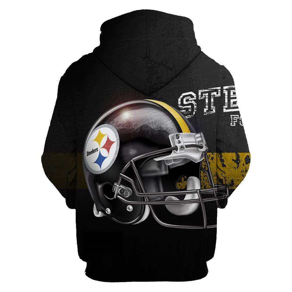 Pittsburgh steelers full printing hoodie 2