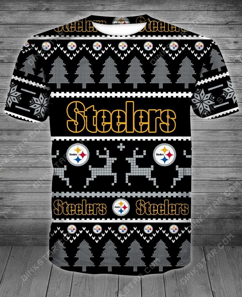 Pittsburgh steelers full printing tshirt