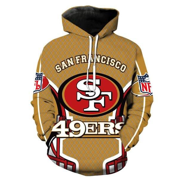 San francisco 49ers full printing hoodie 1