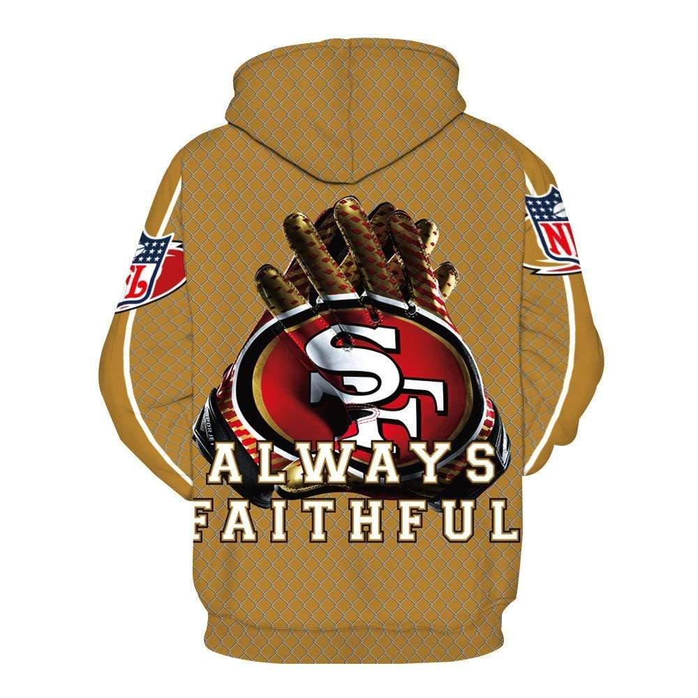San francisco 49ers full printing hoodie 2