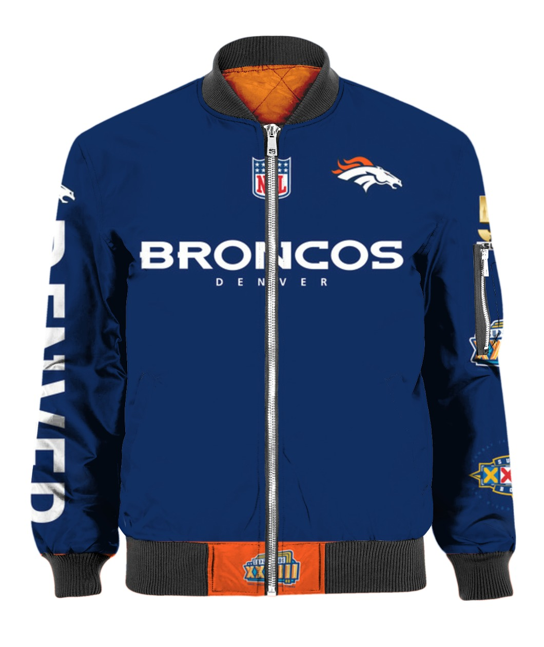 Stand for the flag kneel for the cross denver broncos all over print bomber