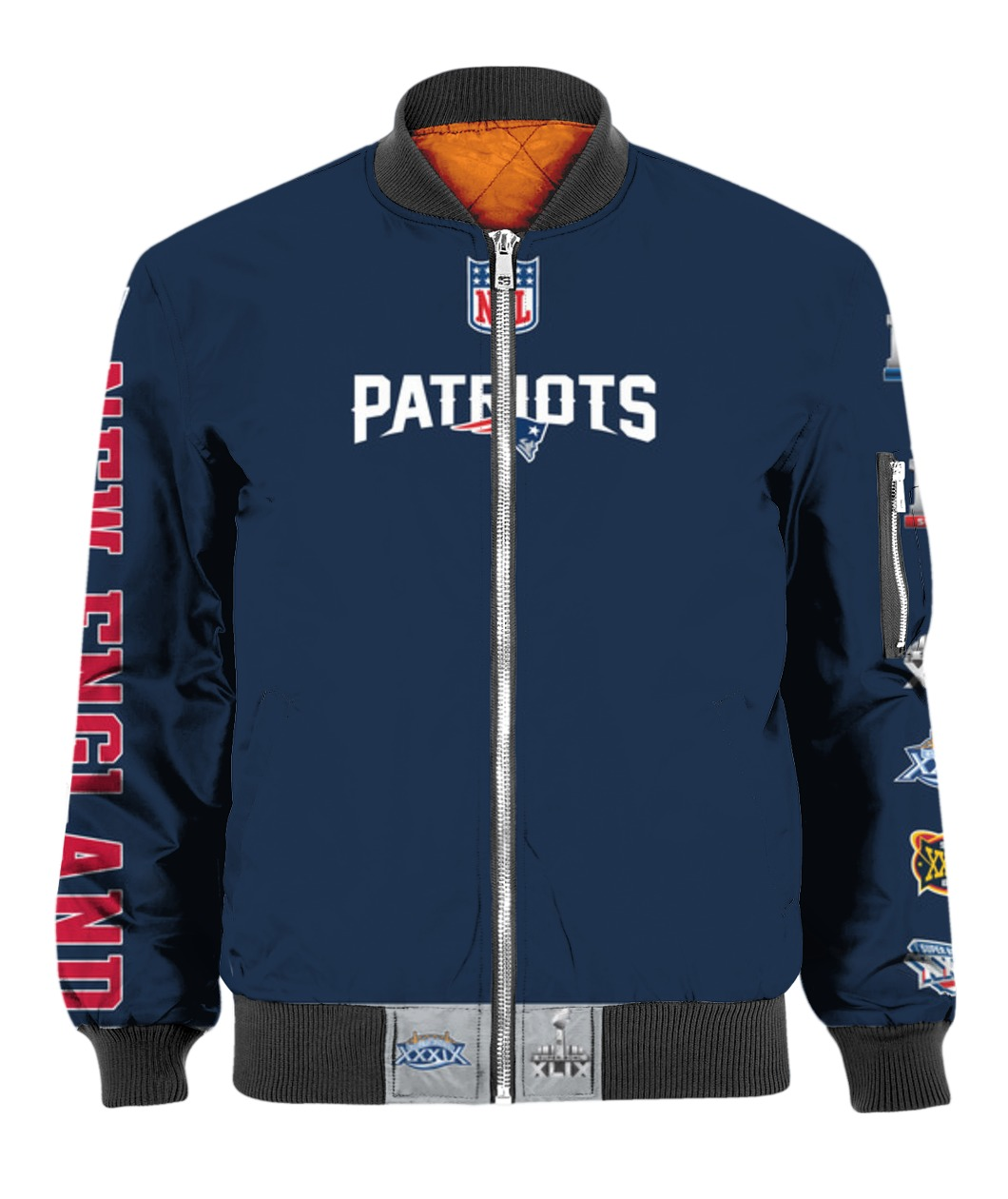 Stand for the flag kneel for the cross new england patriots all over print bomber