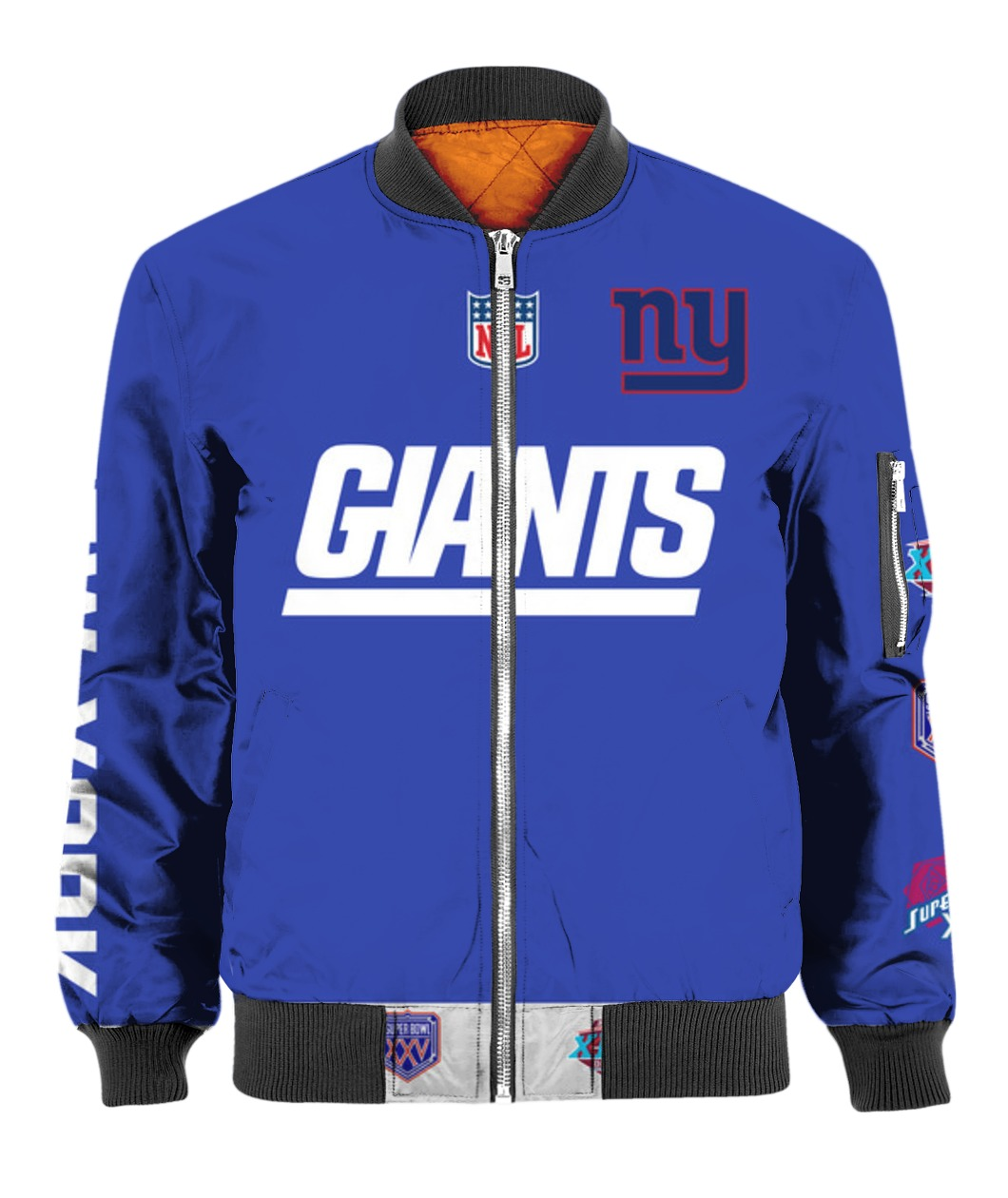 Stand for the flag kneel for the cross new york giants all over print bomber
