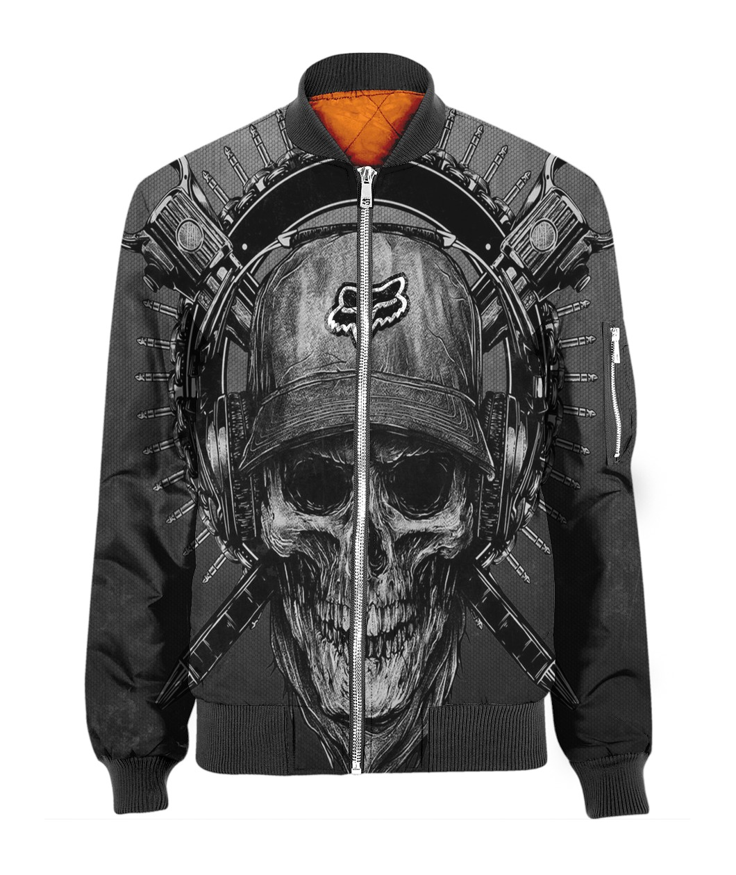 Terror noise division fox racing all over print bomber