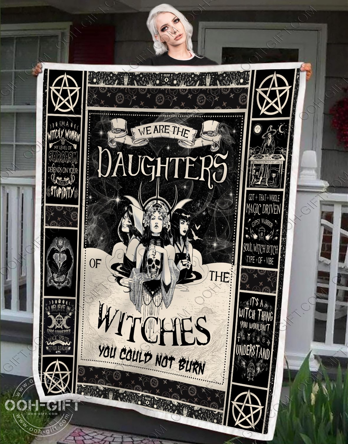 We are the daughters of the witches you could not burn blanket 1