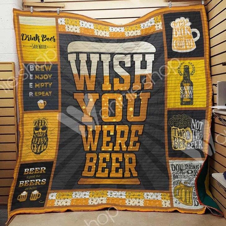 Wish you were beer quilt 1