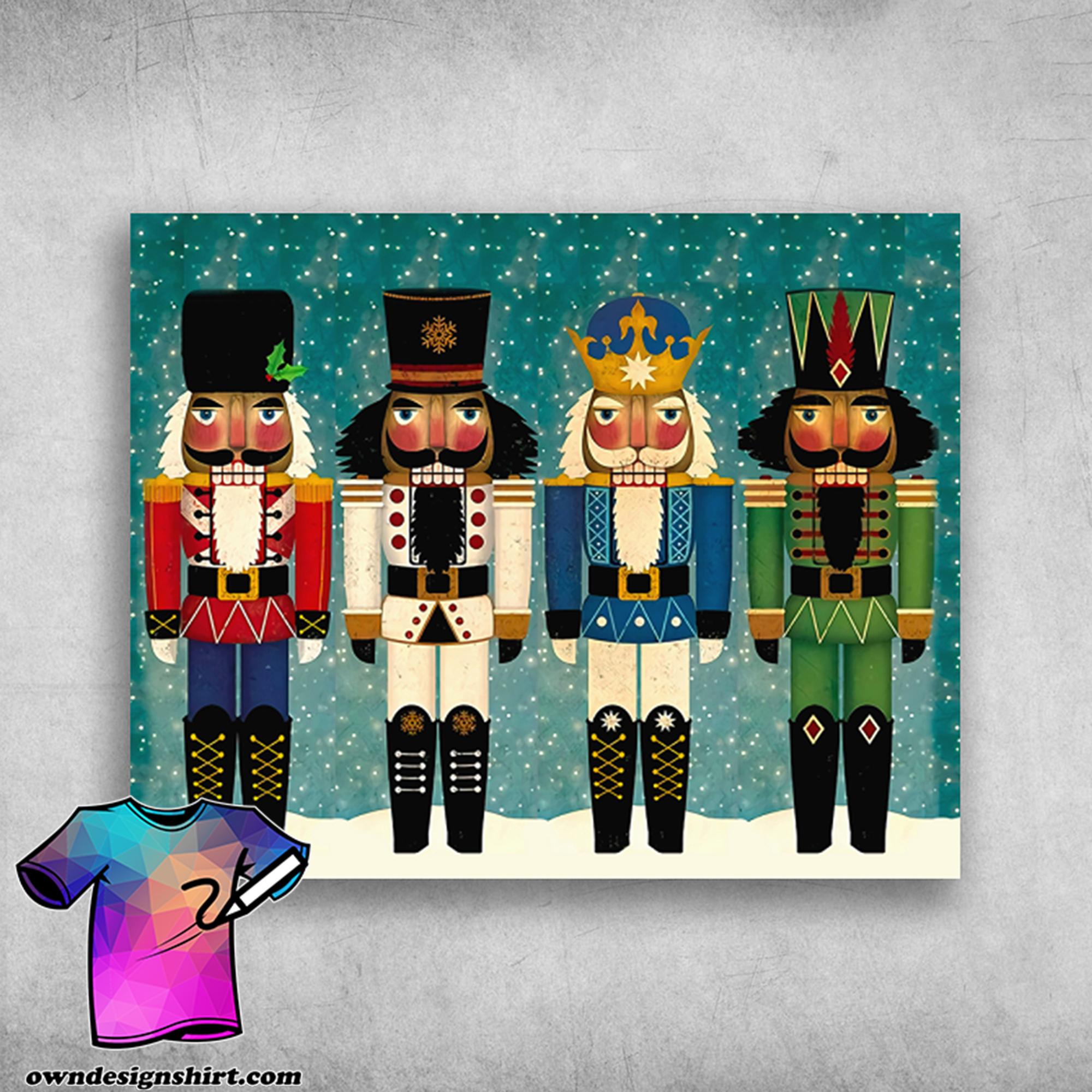 Christmas nutcrackers you'll love nutcracker merry christmas poster