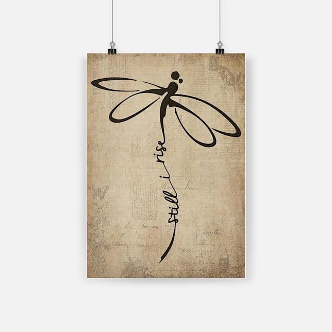 Dragonfly still i rise dragonfly spirit little lamb dragonfly poster 1