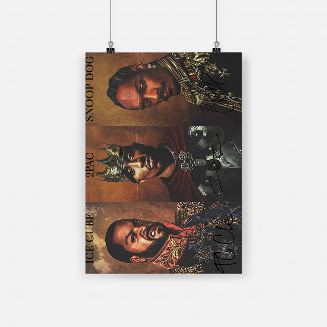 Notorious big snoop dogg ice cube tupac poster 2
