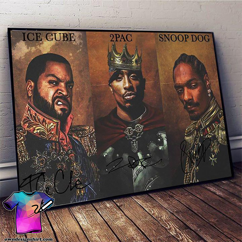 Notorious big snoop dogg ice cube tupac poster