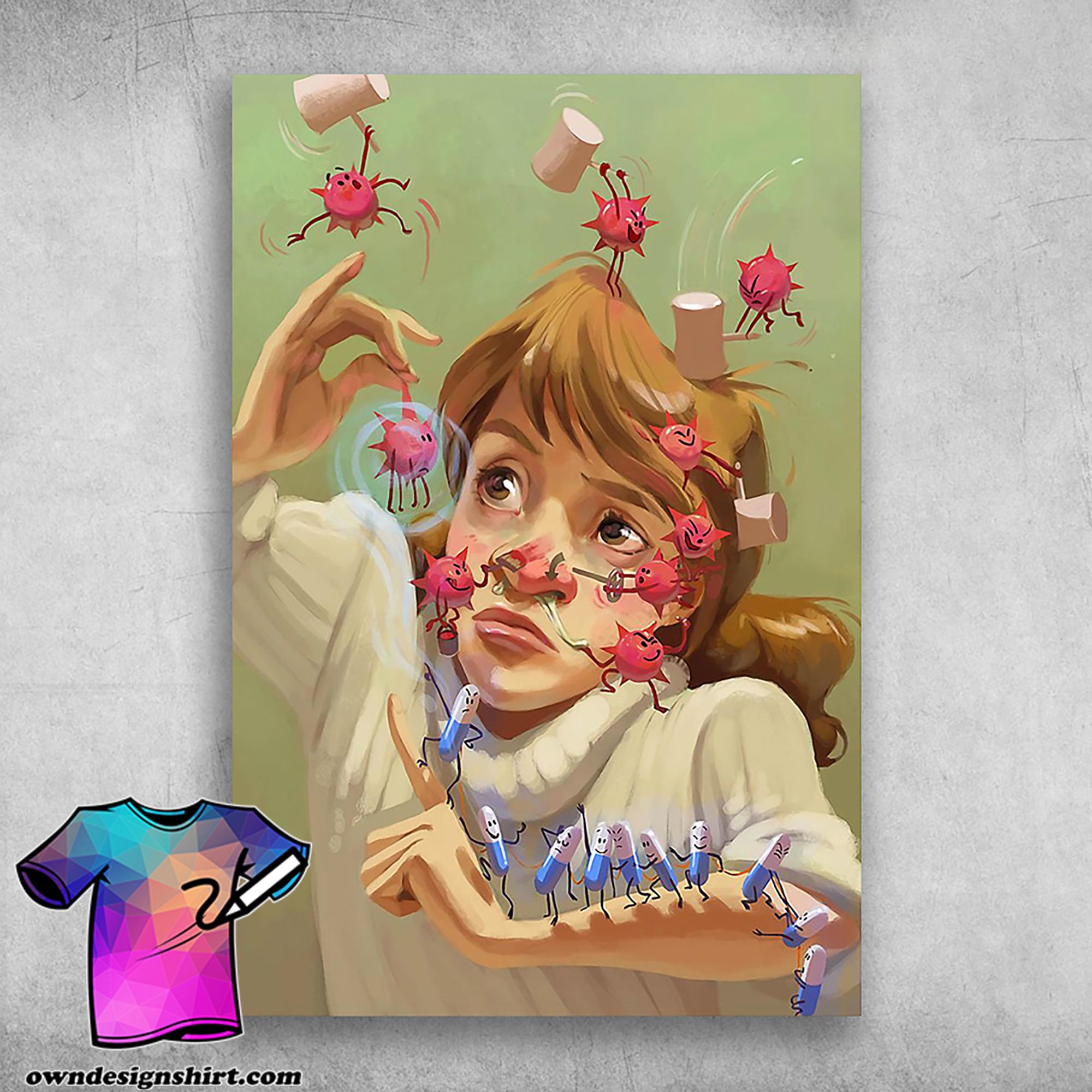 Pharmacy girl pharmacist community pharmacy related poster