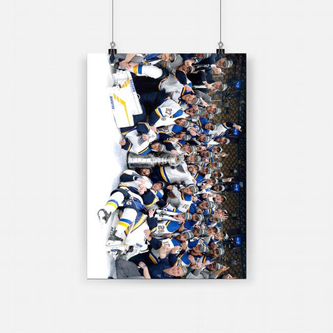 St louis blues win stanley cup for first time in franchise history poster 2