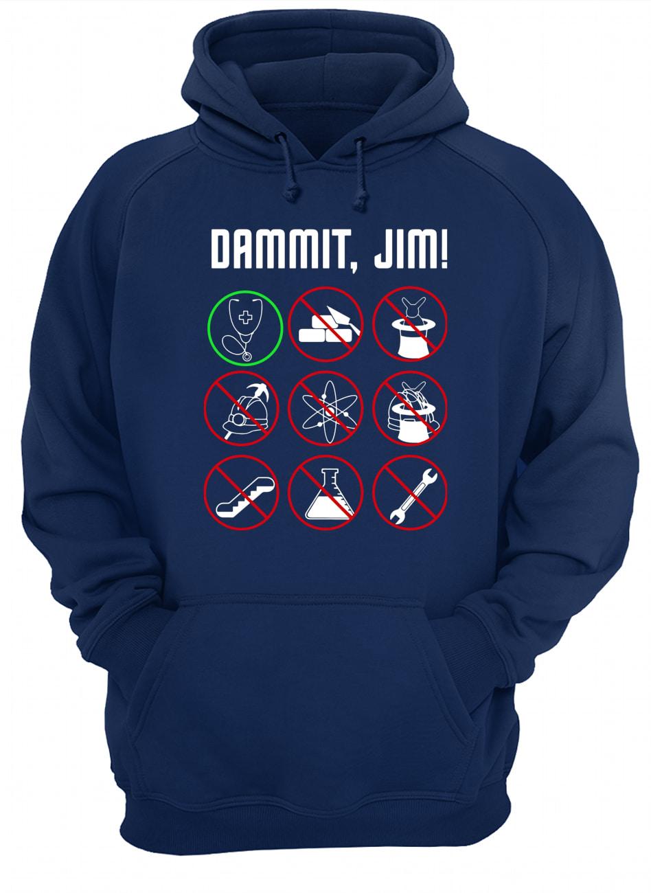 Star trek movie dammit jim hoodie