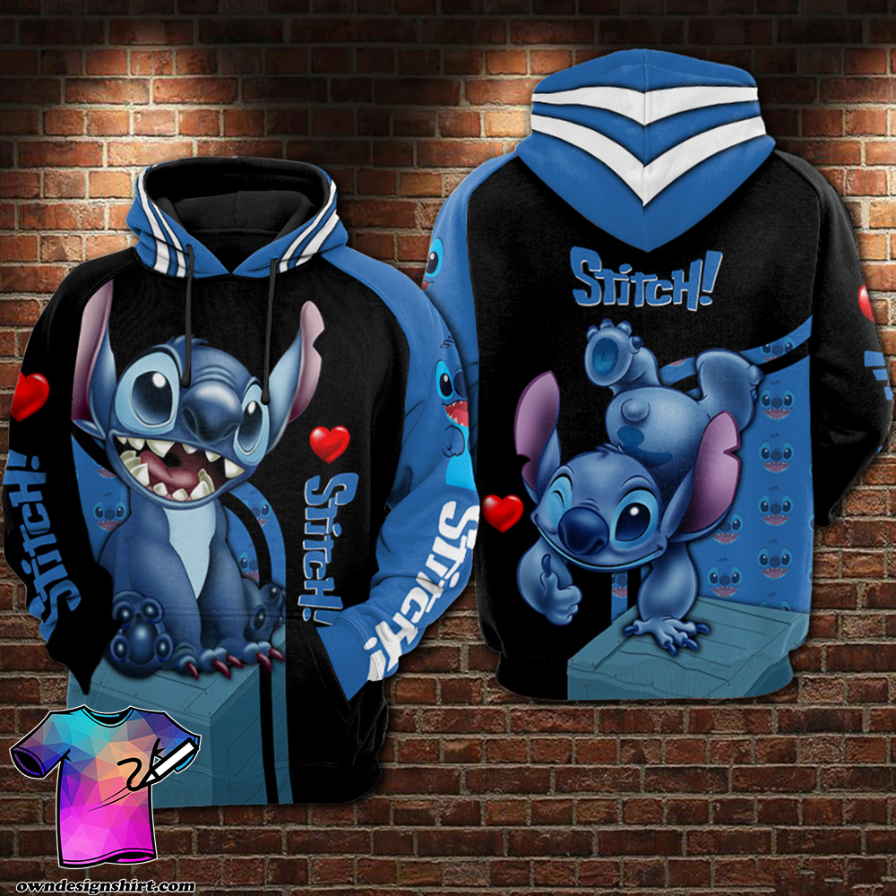 Stitch all over printed shirt