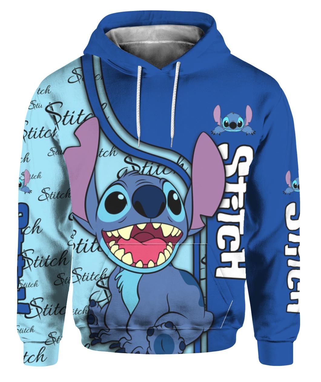 Stitch full printing hoodie 1